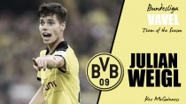 VAVEL Bundesliga Team of the Season - Julian Weigl: The holding midfielder anchoring down a position as one for the future