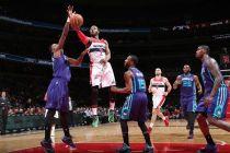 I Wizards vincono contro gli Hornets dopo due overtime