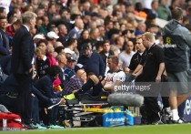 Tottenham striker Harry Kane facing up to two months out with ligament damage
