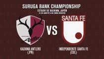 Kashima Antlers - Santa Fe: Japón recibe por primera vez a Colombia