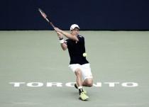 La versión más irregular de Nishikori le basta ante Dimitrov