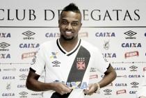 """Kelvin é apresentado oficialmente e se mostra animado: """"O Vasco foi a melhor opção"""""""
