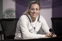 """Angelique Kerber: """"Siempre es bueno tener una primera ronda dura"""""""
