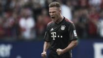 """Kimmich marca no fim, garante vitória do Bayern e celebra: """"Felizmente conseguimos o gol"""""""