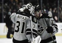 Los Angeles Kings battle the San Jose Sharks once more at SAP Center