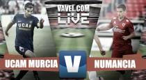 Partido UCAM Murcia vs Numancia en vivo y en directo online en Segunda 2016