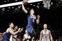 New York Knicks come from behind to defeat Brooklyn Nets, 95-90