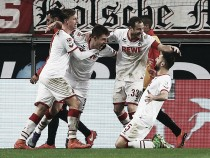 1. FC Köln 3-1 Eintracht Frankfurt: The Billy Goats celebrate in style