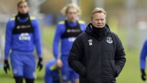 Ronald Koeman says he is happy with Everton progression so far