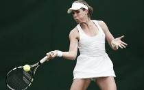 Wimbledon 2016: Johanna Konta wins her first ever game at All England Club to set up Bouchard tie