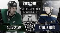 Dallas Stars - St. Louis Blues: choque de pesos pesados en la Conferencia Oeste