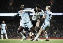 Gabriel Jesus tem gol anulado e City cede empate ao Tottenham em jogo eletrizante
