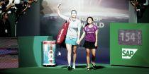 WTA Finals: rinasce Petra Kvitova, travolta Sharapova. Ancora bene Wozniacki