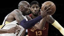 Resumen NBA: Paul George brilla en la noche en la que Kobe Bryant confirmó la retirada
