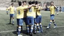 Las Palmas Atlético-Racing de Santander B:Primer asalto en el Juan Guedes