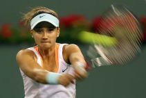 Lauren Davis da la campanada en Indian Wells