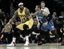 """LeBron James: """"Westbrook puede mantener el promedio de triple-doble"""""""