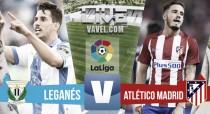 Leganés vs Atlético de Madrid en vivo online en La Liga 2016