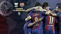 Primer enfrentamiento entre Leganés y FC Barcelona