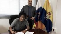 Las Palmas ejerce la opción de compra de Mauricio Lemos
