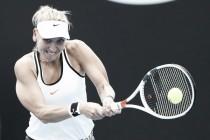 Australian Open: Elena Vesnina strolls to victory over Ana Bogdan