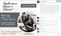 Goleiro do Internacional, Alisson participa de campanha para ajudar torcedor do Grêmio a curar câncer