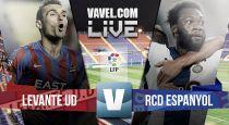 Resultado Levante vs Espanyol en la Liga BBVA 2015 (2-2)