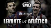 Atlético de Madrid - Levante UD: primer combate a muerte del 2016