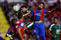 Levante - Eibar: puntuaciones del Levante, jornada 5 de la Liga BBVA