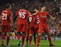 Liverpool 2-1 Ludogorets:Unconvincing Reds secure late victory
