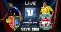 As it happened: Basel 1-0 Liverpool Live Streaming and Score of UCL 2014
