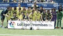 El Villarreal, campeón de La Liga Promises