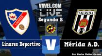 Linares - Mérida en directo online en Segunda División B 2015