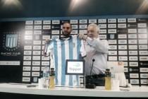 Atacante argentino Lisandro López é apresentado pelo Racing: ''É um prazer estar de volta''