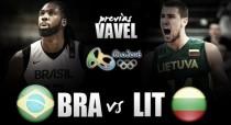Brasil-Lituania: los anfitriones buscan brillar en su debut