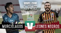 Resultado y goles del Murciélagos 1-1 Leones Negros del Ascenso MX 2017