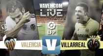 En vivo: Valencia vs Villarreal 2016 en Primera División online