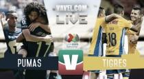 Pumas vs Tigres EN VIVO online en Liga MX 2016 (0-0)