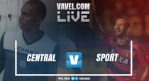 Resultado Central x Sport no Campeonato Pernambucano 2017 (1-3)