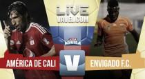 América de Cali fue efectivo y venció a Envigado en el Pascual Guerrero (2-0)