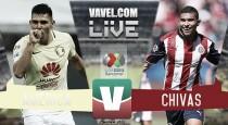 Brizuela se convierte en figura y Chivas vence 3 a 0 a América
