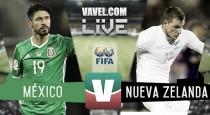 México gana pero no convence frente a Nueva Zelanda
