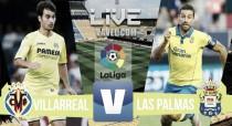 Resultado Villarreal vs Las Palmas en vivo y en directo online en La Liga 2016 (0-0)