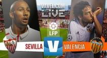 Sevilla vs Valencia en vivo y en directo online (0-0)