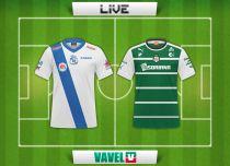Puebla vs Santos Laguna en vivo online