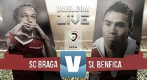 Resultado Sporting de Braga vs Benfica (0-2): dos goles tempraneros acaban con un buen SC Braga