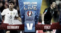 Germany vs Italy Live Score stream commentary of Euro 2016 quarter-final