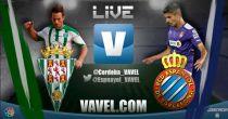Córdoba vs Espanyol en vivo y en directo online