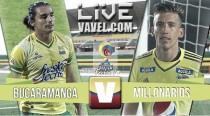 Resultado Bucaramanga - Millonarios en Liga Águila 2016 - I (1-1)
