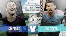 Resultado Eibar vs Celta de Vigo en la Liga BBVA 2015 (0-1)